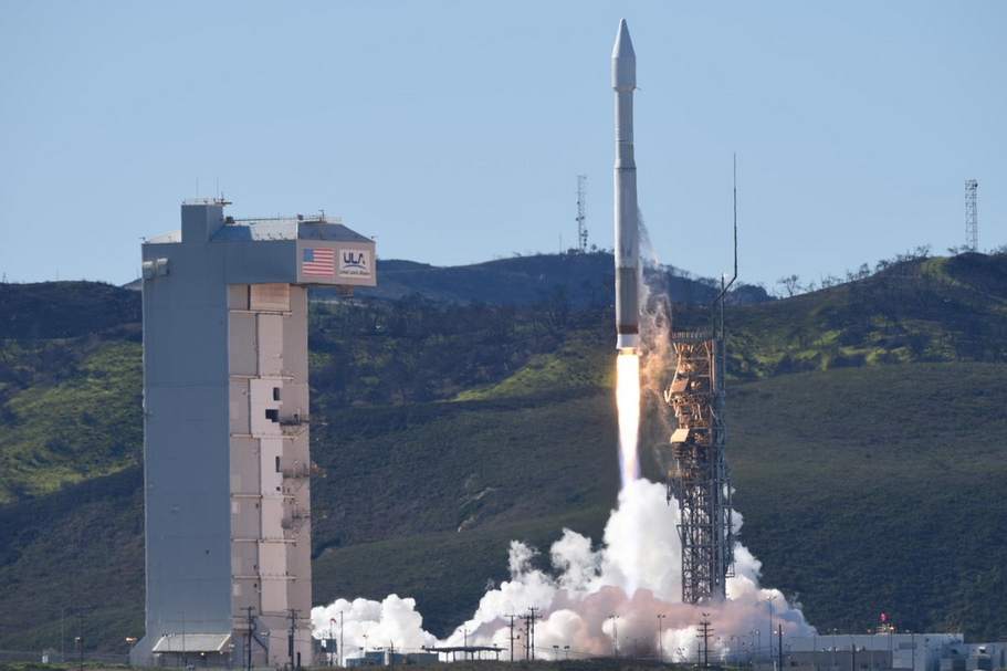 Rocket Launch from Vandenberg Space Force Base, Lompoc, California  Photo Credit: U.S. Air Force photo by Senior Airman Ian Dudley